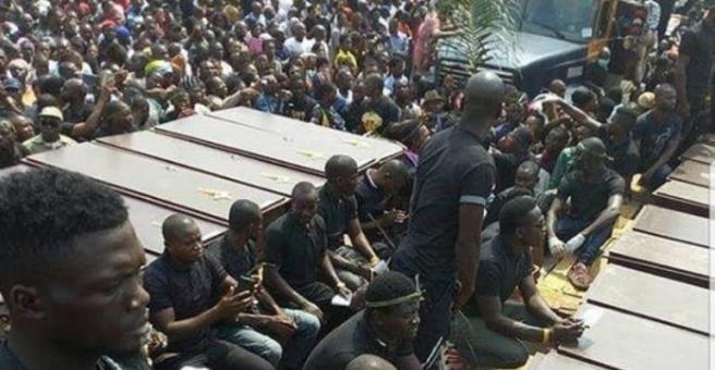 mass burial