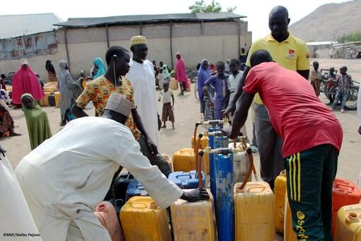 Providing Access to safe and clean water in Pulka, Borno state