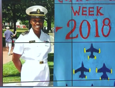 NNOA Member – 2ndLT Ashanti Curry Graduates from the United States Naval Academy
