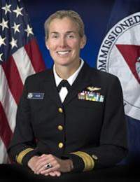 Rear Admiral Lower Half Nancy Hann