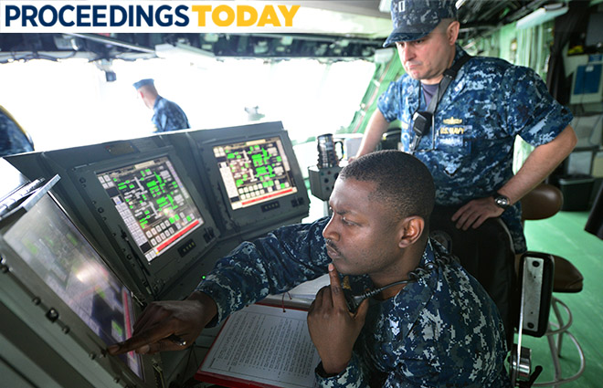 Train For Maritime Cyber Warfare