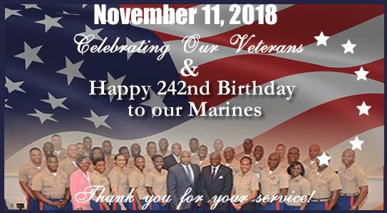 Happy Birthday Marines and Happy Veterans Day