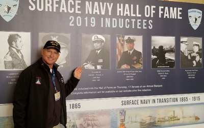 VADM Sam Gravely inducted into SNA symposium / Hall of Fame – USS Gravely Assumes Flagship of SNMG1