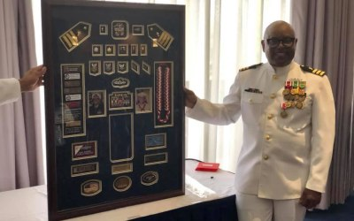 Retirement Ceremony for Commander Carl M. Barnes, USN (Ret.)