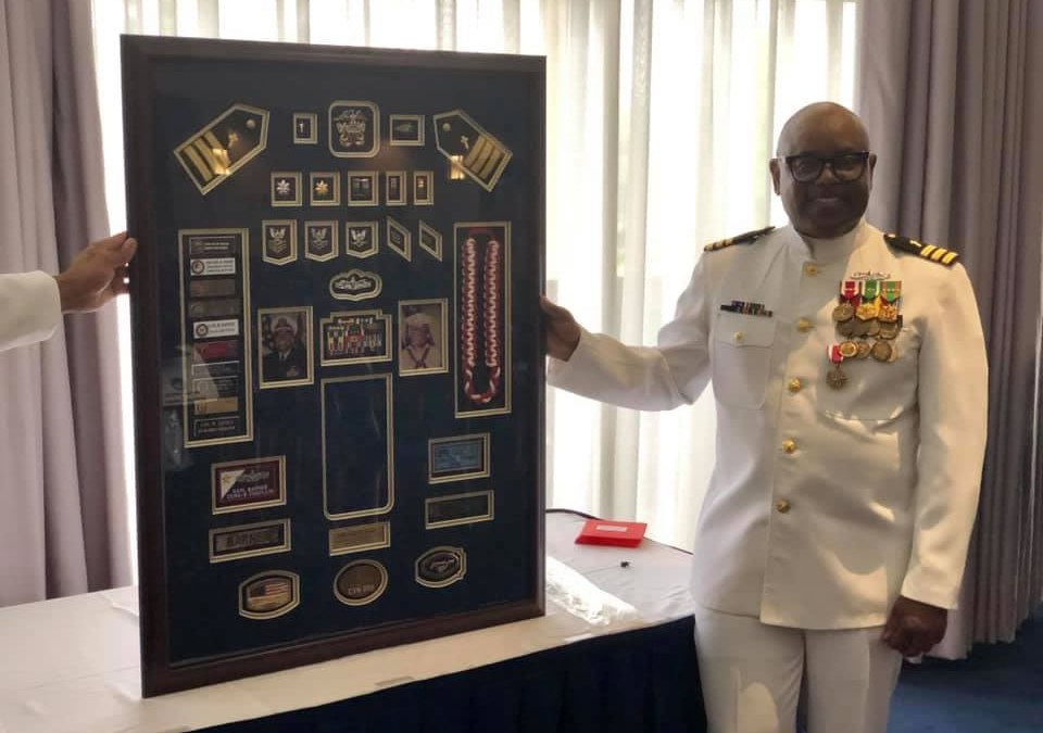 Retirement Ceremony for Commander Carl M. Barnes, USN (Ret.)