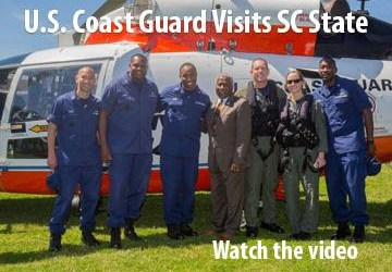 U.S. Coast Guard Visits SC State University