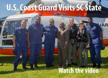 U.S. Coast Guard Visits SC State University