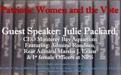 Women's History Month 2020 – Monterey Chapter Celebration