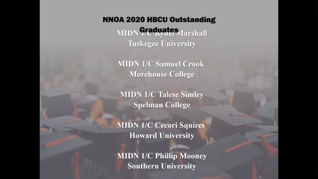 NNOA Congratulates the 2020 HBCU Graduates