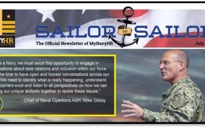 Sailor to Sailor – My Navy HR Newsletter