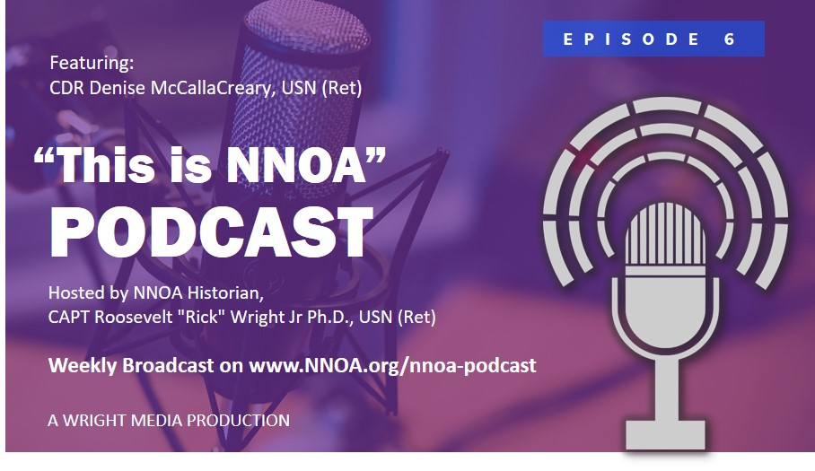 Podcast Episode 6: CDR Denise McCallaCreary, USN (Ret)