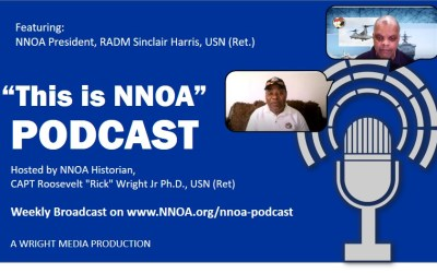 Podcast Episode 1: RADM Sinclair Harris, USN (Ret.)