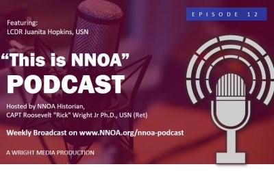 Podcast Episode 12:  LCDR Juanita Hopkins, USN