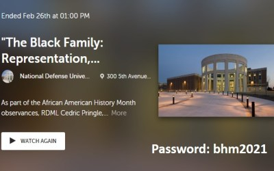 """The Black Family: Representation, Identity, and Diversity."""