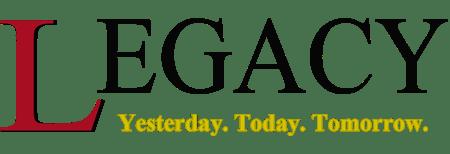 the Legacy Newspaper logo