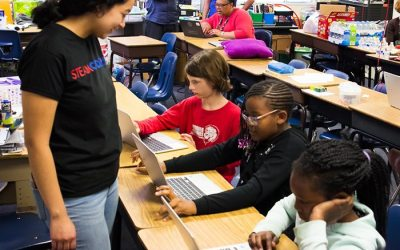 MAKING A DIFFERENCE: STEAM:Coders provides opportunities for at-risk students