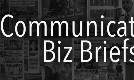 Communications Biz Briefs — Week of May 2, 2016
