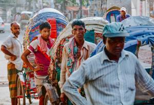 men in Dhaka