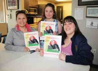 Two Hay River firefighters – Capt. Kirsten Fischer, left, and Korin Carter, right – have again volunteered to instruct a Home Alone Course for children, including Carter's nine-year-old daughter Jaidyn Henderson. - Paul Bickford/NNSL photo