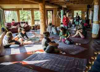 FOXY participants Body Mapping at Blachford Lake Lodge.https://arcticfoxy.com/