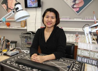 Hannah Duong opened a nail salon in Hay River at the beginning of February, and the new business has become very popular in a short period of time. Paul Bickford/NNSL photo