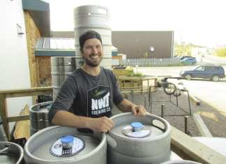 NNSL file photo Fletcher Stevens, founder of the NWT Brewing Company, said the old facility will remain operational during the expansion which will allow for roughly three times the production of their staple beers.