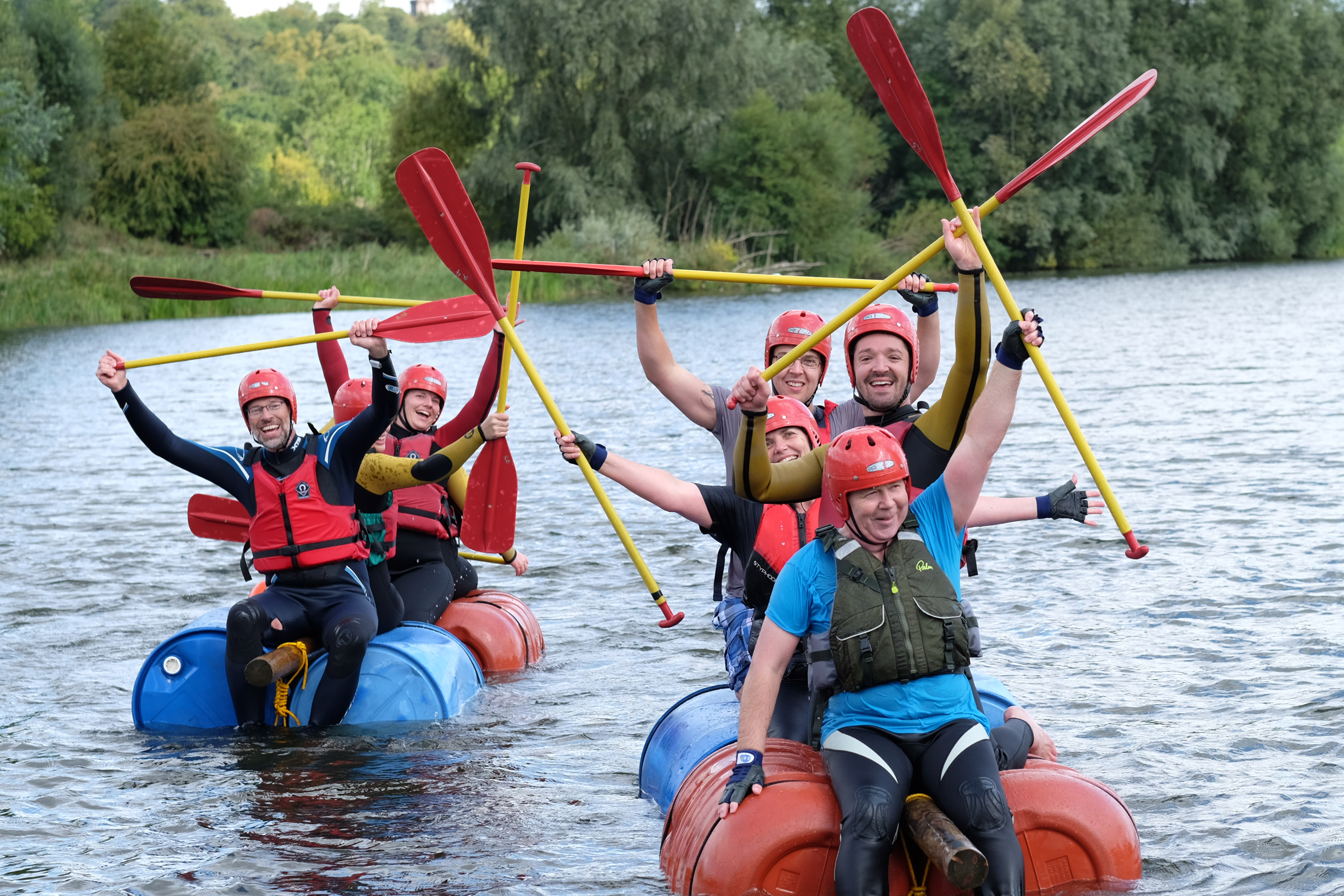 Teams tackle water challenge for Boudicca Appeal