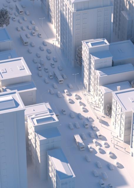 第二種中高層住居専用地域の建蔽率や容積率の参考画像