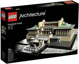 LEGO(レゴ)アーキテクチャーシリーズ「帝国ホテル」 フランク・ロイド・ライトの建築を再現ズ「帝国ホテル」の参考画像