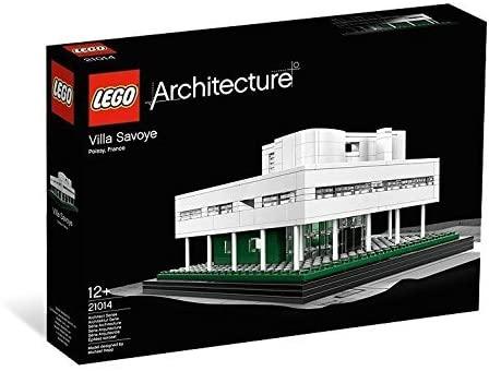 LEGO(レゴ)アーキテクチャーシリーズ「サヴォア邸 Villa Savoye Collectible」ル・コルビュジェの建築を再現の参考画像