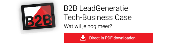 B2B Leadgeneratie Tech Business Case