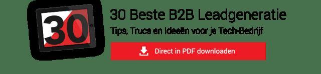 Tips online leads b2b leadgeneratie demand generation