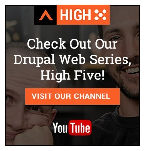Check Out Our High Five Drupal Web Series