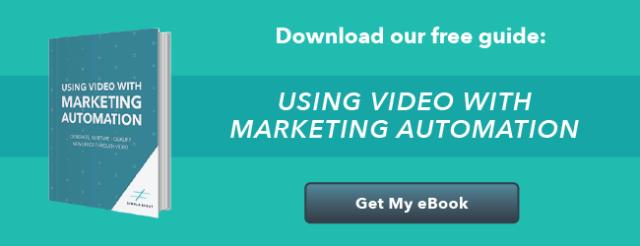 Utiliser la vidéo avec l'eBook Marketing Automation