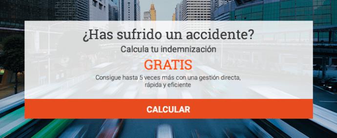 ¿Has sufrido un accidente? Calcula tu indemnización gratis