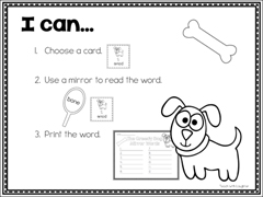 Using Mirrors to Build Vocabulary—with FREE Download!