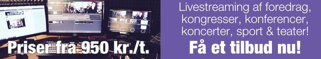 Få tilbud og priser på livestreaming hos ProSonas FILM A/S