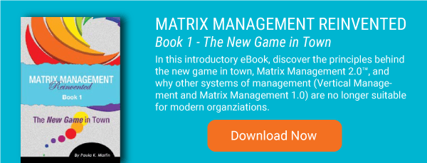 Matrix Management Reinvented Book 1 - The New Game in Town