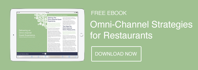 Blog CTA for delivering an omni-channel guest experience restaurant ebook