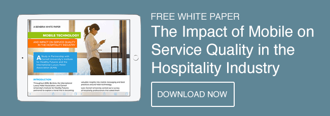Impact of Mobile on Service Quality in the Hospitality Industry