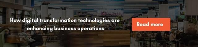 Comment les technologies de transformation numérique améliorent les opérations commerciales
