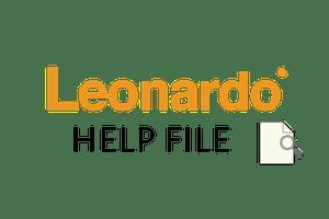 Leonardo-help-file