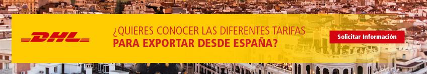 ¿Quieres conocer las diferentes tarifas para exportar desde España?
