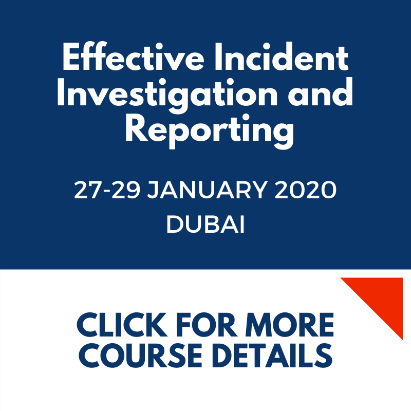 Effective Incident Investigation and Report DB