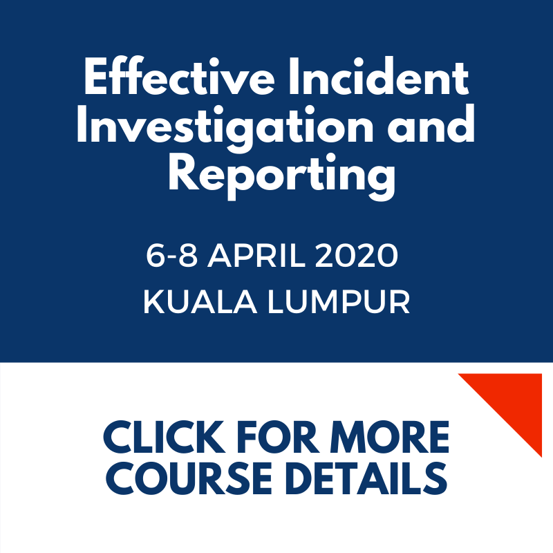 Effective Incident Investigation and Reporting KL