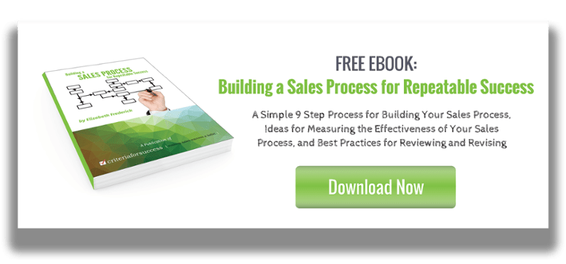 Building a Sales Process for Repeatable Success