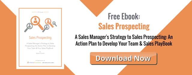 Free eBook: Sales Prospecting Action Plan