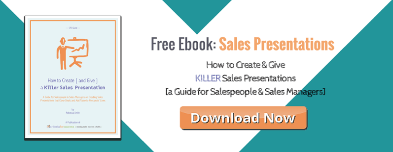Free eBook: How to Create & Give a Killer Sales Presentation