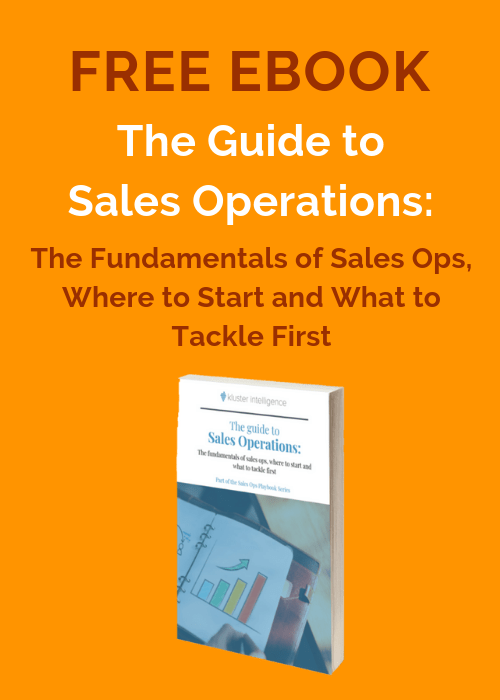 The Guide to Sales Ops - free ebook