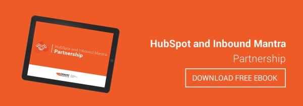 HubSpot and Inbound mantra partnership